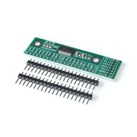 eu bordo venda por atacado-Freeshipping 10 PÇS / LOTE MCP23017 Interface I2C 16bit I / O Módulo de Extensão Placa de Pin IIC para GIPO Conversor 25mA1 Drive Power Supply para Arduin