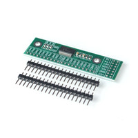 Wholesale i o board resale online - Freeshipping MCP23017 I2C Interface bit I O Extension Module Pin Board IIC to GIPO Converter mA1 Drive Power Supply for Arduin
