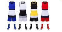 cool formalar toptan satış-Sıcak satış Yeni basketbol üniforma takım elbise, tüm Mingsheng erkek basketbol spor forması, ter emici, nefes alabilen ve çabuk kuruyan.
