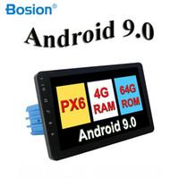 mazda araba dvd gps navigasyon radyo toptan satış-4G RAM 2 Din 8 '' Android 9.0 Evrensel Araba Radyo çift din Stereo GPS Navigasyon Dash Pc Video WIFI USB 2din BT araba dvd