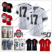 Wholesale college name football jerseys for sale - Group buy Custom Ohio State Buckeyes College Football Any Number Name White Red Gray Black Camo Fields Dobbins Olave Young Teague Burrow OSU Jersey