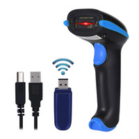 Wholesale laser scanner barcode readers for sale - Group buy Wireless Barcode Scanner USB Cordless Laser Automatic Barcode Reader Handheld Bar Code Scanner for Library Retail Warehouse