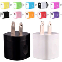 Wholesale iphone mini adapter for sale - Group buy NOKOKO Colors V A US USB AC Wall Charger Home Travel Charger Adapter Mini USB charger For Samsung Iphone x Smartphones mp3 pc