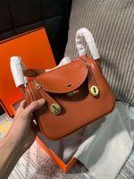 Wholesale gorgeous women handbags resale online - Brand Women Totes Gorgeous Soft Genuine leather Shoulder Bags lady Handbag High Quality Real photos