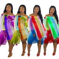 neuer einteiliger rock großhandel-das über dem Knie Kleid trägerlose lange Hülsenrock der stilvollen neuen Art einteiliges Kleid der Art und Weise reizvoller muliticolors Rock klw0459