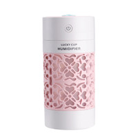 диффузор для легковых автомобилей оптовых-Mini Air Humidifier Essential Oil Diffuser With Color Night Lights Electric Aromatherapy USB Humidifier Car Aroma Diffuser
