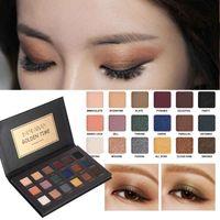 Wholesale golden eyeshadow palette resale online - Handaiyan Brand Colors set Shimmer Matte Eye Shadow Palette Eyes Makeup GOLDEN TIME Eyeshadow Powder Set Make up Art Luminous Shadows