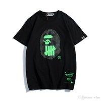 kadınlar için siyah yaz tişörtü toptan satış-Yeni Varış Yaz Lover Karikatür Baskı Siyah Beyaz T-Shirt Erkek Kadın Gevşek Rahat Yuvarlak Boyun Kısa Kollu T-Shirt