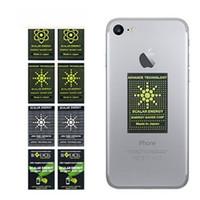 strahlenschutz aufkleber großhandel-EMR EMF Energy Anti Radiation Aufkleber Handy Energy Saver Chip Gadgets Schutz Quantum Protection Aufkleber Advance Technology