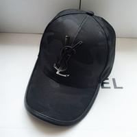 ingrosso berretti-2019 ultimo marchio Womens and men berretto da baseball design sole cappello bagliore nero occhiali da sole cappello moda anti-uv berretti