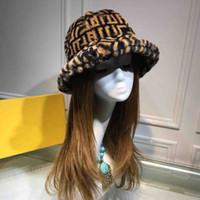 Designer Hats Caps for ladies Letters Stingy Brim Hats Bucket Hat Womens  Fisherman hat rabbit hair Luxury Design tennis cap FamousBrand Gift 4309f1b54e92