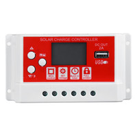 Wholesale solar charge regulators controllers for sale - Group buy 20A V24V Solar Panel Battery Regulator Charging Controller Stage PWM LCD