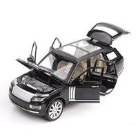 ingrosso luce del ranger-1:24 Fonde sotto pressione Veicoli giocattolo Ranger Rover Model Car Con SoundLight collezione di auto Giocattoli per il ragazzo del regalo dei bambini