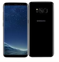 neues handy freischalten großhandel-2019 NEUE Ursprüngliche Samsung Galaxy S8 S8 Plus Entsperrt Handy RAM 4 GB ROM 64 GB / 128 GB Android 7.0 5,8