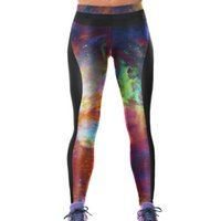 Wholesale galaxy yoga pants for sale - Group buy Girls Sport Leggings Galaxy Starry Sky D Graphic Full Print Sportwear Yoga Wear Pants Women Runner Jeggings Lady Soft Trousers YAslgs0030