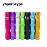 x6 mod zigarette großhandel-X6 batterie 1300mAh elektronische zigarette ego batterie 510 gewinde ce4 mt3 mini protank zerstäuber verdampfer vape mod rauchen wechselrichter batterie