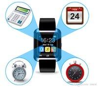 pulso led de relógio inteligente venda por atacado-O relógio esperto melhor vibrante da configuração alta conduziu a pressão sanguínea esperta do relógio do pulso do pulso U8