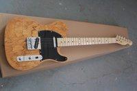 e-gitarre natur großhandel-Freie Verschiffen 2019 beste Preis Qualitätsnaturfarbe Ameican Standardtelecaster-E-Gitarre