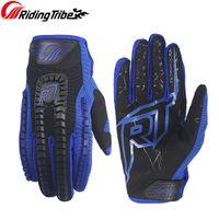 модные рукавицы оптовых-Гоночные перчатки Эластичная ткань Мода и красочный дизайн Рук защитное снаряжение для мотокросса Ралли Мотоцикл Dirt Bike CE-12