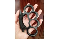 aluminium alloy Finger Buckle Protective Gear Four Finger Ring Self-Defense Tools BrokenWindow KNUCKLE DUSTER Selfdefensesupplie