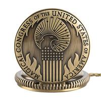 schmetterling geformte uhr groihandel-Fantastische Biester und wo Vintage-Quarz-Taschenuhr zu finden Magical Congress der Vereinigten Staaten von Amerika Halskette Anhänger