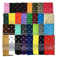 Wholesale new paisley design bandana for sale - Group buy New cotton Fashion Paisley Design Stylish Magic Ride Magic Anti UV Bandana Headband Scarf Hip hop Multifunctional Outdoor Head Scarf