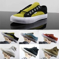 Wholesale lace vulcanized canvas shoes for sale - Group buy Sk8 Mid Pro Canvas Shoes Lightweight Mens Womens Sneakers Classic All match Vulcanized shoes Crocodile Texture Skate Shoes Size