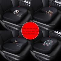massagesitze autos großhandel-11 Muster Autositzbezug Kissen Büro Shu Druck Pflege Schöne Gesäßpolster Verdickung Memory Massage Kissen Einzelsitz Furz