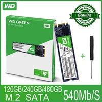 128gb katı hal toptan satış-m.2 2280 WD Green PC SSD 120 240GB 480GB Dahili Katı Hal Sabit Disk M.2 SATA 2280 540MB / S 120G 240G
