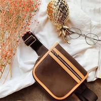 taillenbeutelmuster großhandel-Hüfttasche Luxus-Designer-Taille Taschen klassische Dekorative Muster am besten neueste Ankunft klassische braun 16cm Verkauf Mini Frauen-Beutel hohe Qualität