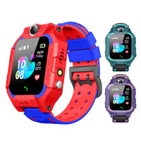 Wholesale smartwatches for kids online – Kids Q19 Smart Watch Wateproof LBS Tracker Smartwatches SIM Card Slot with Camera SOS Voice Chat Smartwatch For Smartphone