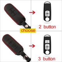 mazda schlüssel fälle großhandel-Faltbarer Autoschlüsselkasten für Mazda 2 3 6 Atenza Axela CX-5 CX5 CX 5 CX-7Waterproof Case für Autoschlüssel Silikonhülle für Autoschlüssel