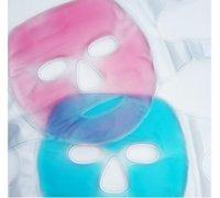 terapia de hielo al por mayor-Cara de hielo / máscara de ojos para la Mujer Hombre, caliente / frío perlas de gel reutilizables máscara de hielo con cubierta de felpa suave, Frío Terapia caliente para el dolor facial
