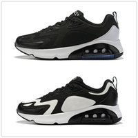 Wholesale max 46 resale online - 2019 New Maxes Mens Running Shoes Royal Pulse Black White Half Palm Air Cushion Designer Sneakers Eur