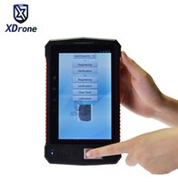 Wholesale laser scanner barcode readers resale online - China Industrial Rugged Tablet PC Fingerprint Reader UHF RFID D Laser Barcode Scanner Android quot PDA Handheld Terminal G
