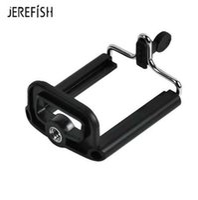 kamerahalterclip großhandel-Flexible Handy-Clip-Ständer-Halter-Halterung für Kamera Selfie Monopod Mini Stativ Gopro Zubehör mit 1/4 Standard Schraubenloch