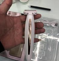 rasoir rechargeable usb achat en gros de-Femmes USB rasoir électrique épilateur épilateur indolore rasage électrique de nettoyage pour les femmes toilettage machine de rasage LJJK1661