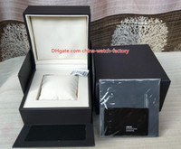 Wholesale watch aquaracer resale online - Hot Selling High Quality TAG Watch Original Box Papers Card Handbag Leather Boxes For Calibre RS RS Aquaracer Chronograph Watches
