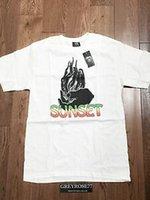 новый модный рынок оптовых-Dover Street Market DSM x Модная футболка с надписью Sunset World Tour Размер M Новый