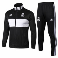 Wholesale ship jersey real madrid for sale - Group buy 3 DHL Real Madrid jacket tracksuits suits Isco MODRIC training suit Balesoccer jerseys Benzema maillot de foot