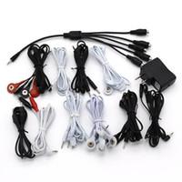 ingrosso collega i giocattoli-Giocattoli del sesso del cavo della scossa elettrica per l'elettro cavo elettrico stabilito per collegare l'anello del pene Stimolazione Anale Plug Accessori erotici
