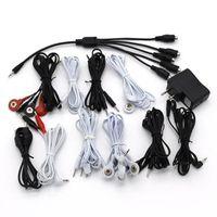 elektrischer kabelstecker großhandel-Stromschlag Draht Sexspielzeug Für Elektrosatz Elektrokabel Zum Anschließen Stimulation Penisring Analplug Erotikzubehör
