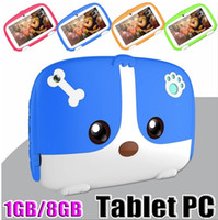 Wholesale tablet 1gb ram 8gb rom resale online - Kids Tablet PC quot inch Quad Core children tablet Android Allwinner A33 google player MB GB RAM GB ROM