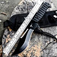 hayatta kalma kılıcını kamp toptan satış-Voltron açık kamp survival taktik düz bıçak, vahşi hayatta kalma bıçak, Amerikan özel kılıç