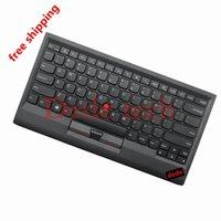 ingrosso compresse compatte-Nuovo originale 0B47189 per Lenovo ThinkPad Compact Bluetooth wireless tastiera americana con trackpoint di ricarica USB per laptop PC tablet