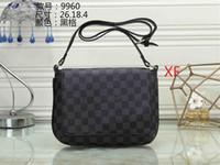 erkek cüzdan boyutu toptan satış-Hızlı ulaşım Yüksek kalite marka 2019 son erkek ve kadın cüzdan moda omuz çantası Messenger çanta çanta shoulde boyutu 26 * 18 * 4