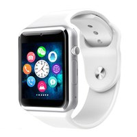 Wholesale white pedometers for sale - Group buy A1 WristWatch Bluetooth Smart Watch Relogio Android Smartwatch Phone Call SIM TF Camera Sport Pedometer Watch with Touch Screen