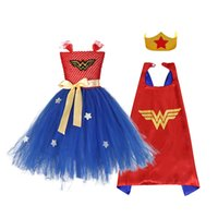 Wholesale batman clothes for kids for sale - Group buy NEW Y Black Girl Batman Tutu Dress Knee Length Bat Girl Birthday Halloween Cosplay Costume For Photos Baby Kids Clothes Set X92430