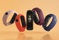 mi banda 4 venda por atacado-Em armazém Original Xiaomi Mi Banda 4 inteligente Miband 3 Cor Tela Pulseira Heart Rate Academia de Música Bluetooth 50M impermeável Band4