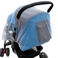 сетчатый чехол для младенца оптовых-150cm summer children baby stroller pushchair mosquito net netting accessories curtain carriage cart cover insect care